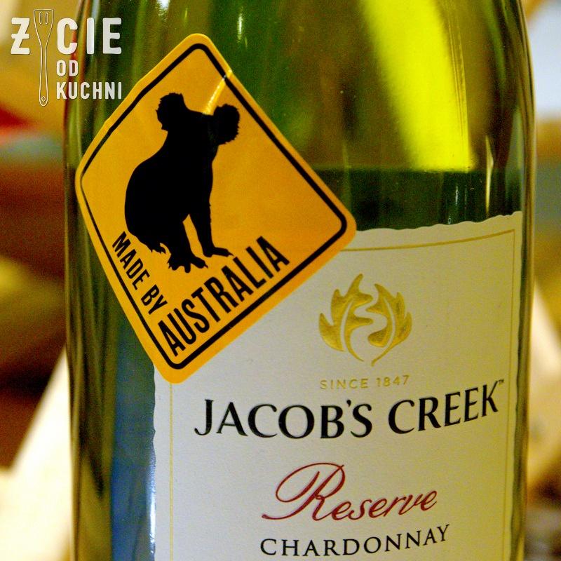 jacobs creek, australijskie wino, dobre wino, zycie od kuchni, australia