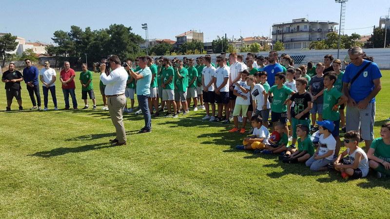 Αγιασμός της Αθλητικής Ένωσης Διδυμοτείχου για τη νέα ποδοσφαιρική χρονιά