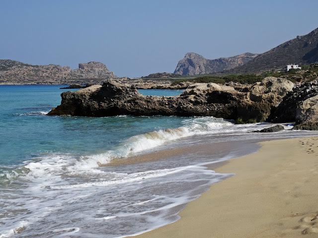 plaża Falassarna Kreta zachodnia co zobaczyć?