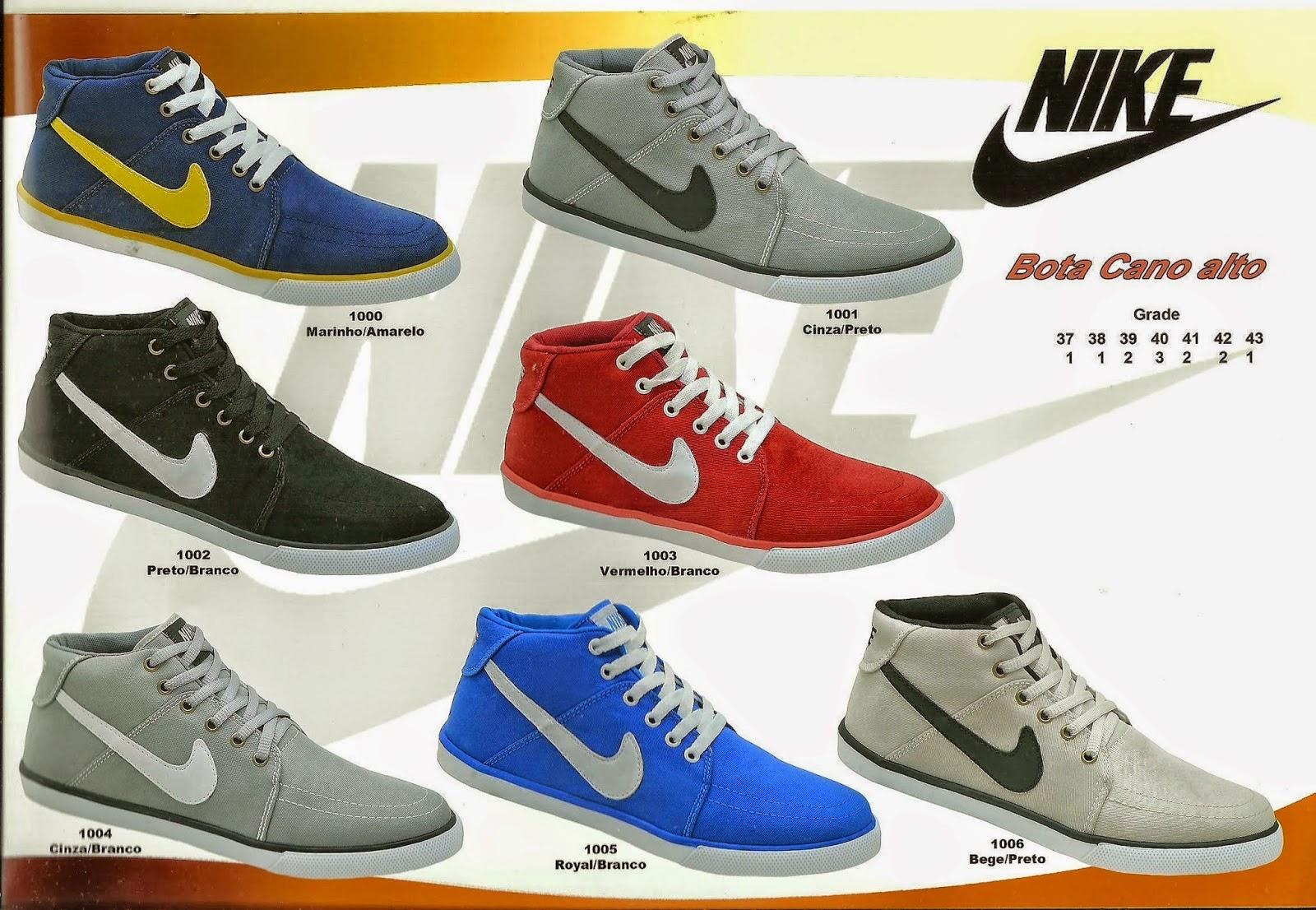 Tenis Nike Infantil Masculino Cano Alto 921dc3defd