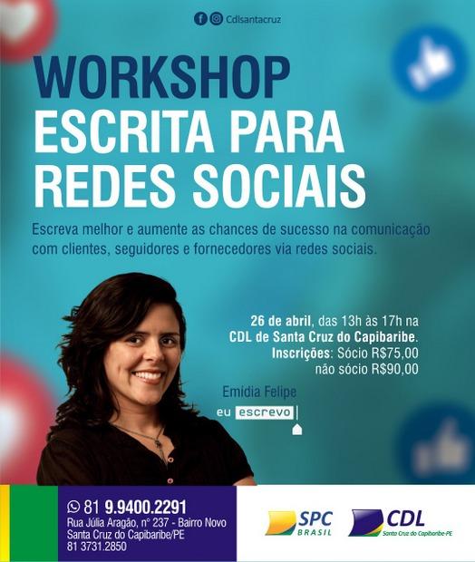 CDL vai promover Workshop sobre escrita para redes sociais