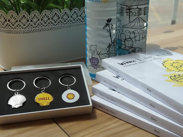 Rekaan terbaru Select Water2go Shell bersama Cheeming Boey