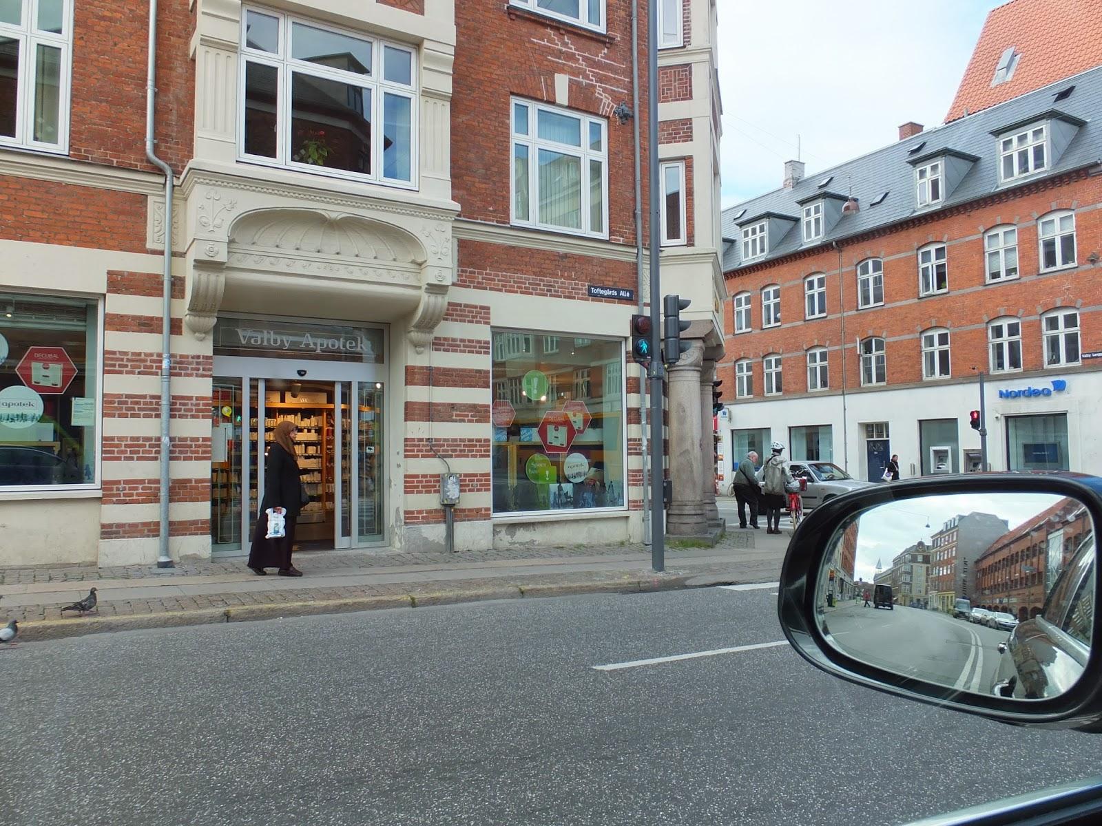 copenhagen-road コペンハーゲンの街中2
