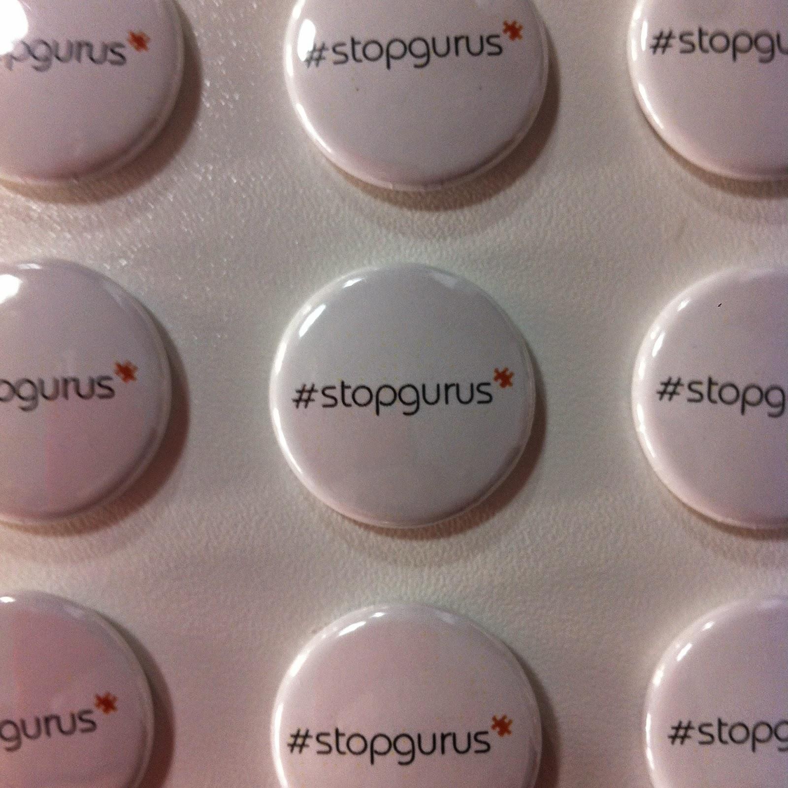 #stopgurus