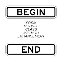 Início e fim das rotinas