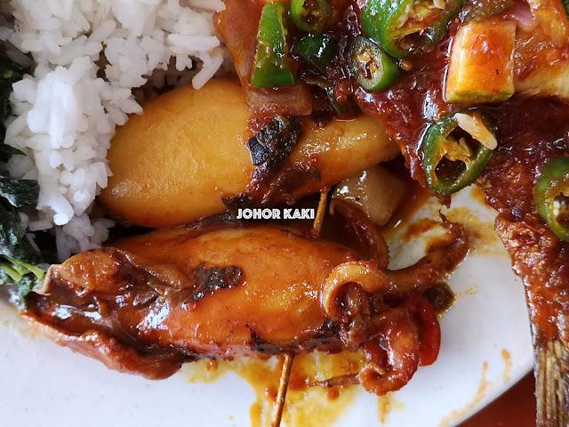 Nasi Campur @ Sudut Selera Sri Cempaka, Johor Bahru