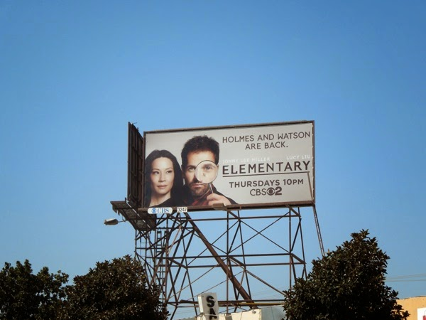 Elementary season 3 billboard