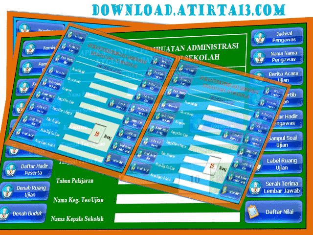 aplikasi berbasis microsoft excel ini memuat 24 berkas administrasi guru. Download Aplikasi Manajemen Ujian Sekolah Rujukan Sekolah Kita Jurnal Pp