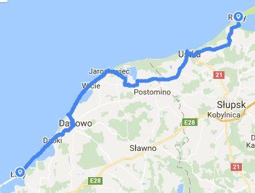 Etap 1 dzień 3 - Łazy - Rowy