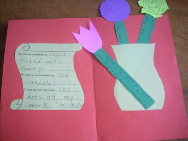 Easy KS1 KS2 mother's day cards ideas to make in school