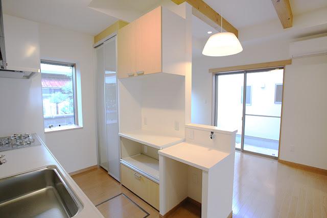 老後を夫婦二人で楽しむ住まいのキッチン収納棚