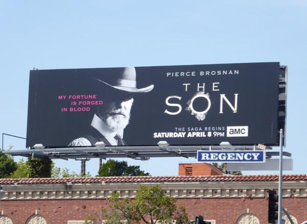 The Son series premiere billboard
