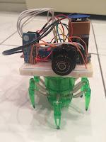 Spybot Robot espia controlado por Bluetooth y android