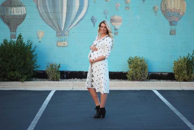 Utah Fashion Blogger, Dress, Maternity Style