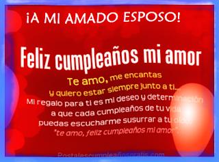 Feliz Cumpleaños a mi Esposo 2