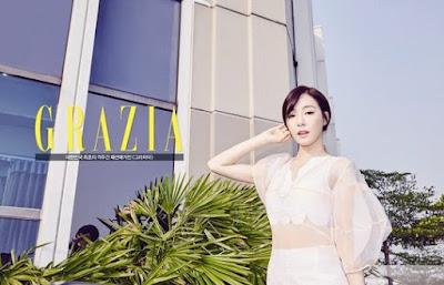 Tiffany Hwang SNSD Girls Generation Grazia Marach 2016