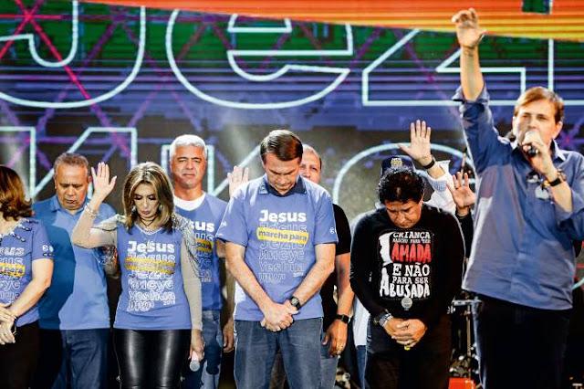 Bolsonaro lidera entre eleitor evangélico, com ou sem Lula candidato