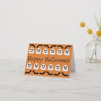 Batty Ghosts greeting card