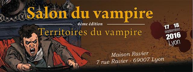 Plaisir de lire salon vampirique lyon 2016 for Salon lyon 2016