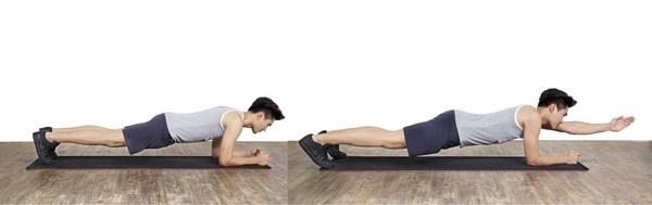 4 động tác plank cho bụng 6 múi siêu chuẩn