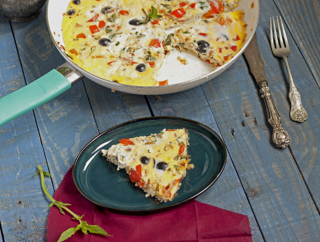 omlet z fetą