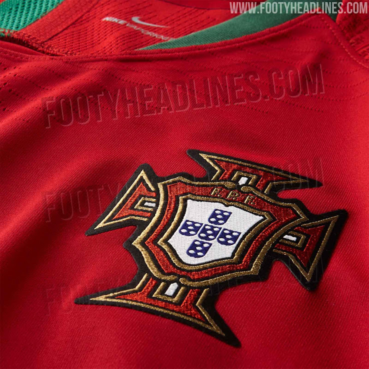 promo code 51c24 1975d Portugal 2018 World Cup Home Kit Released - Leaked Soccer Cleats