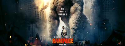 Rampage launches in the trailer in Hindi