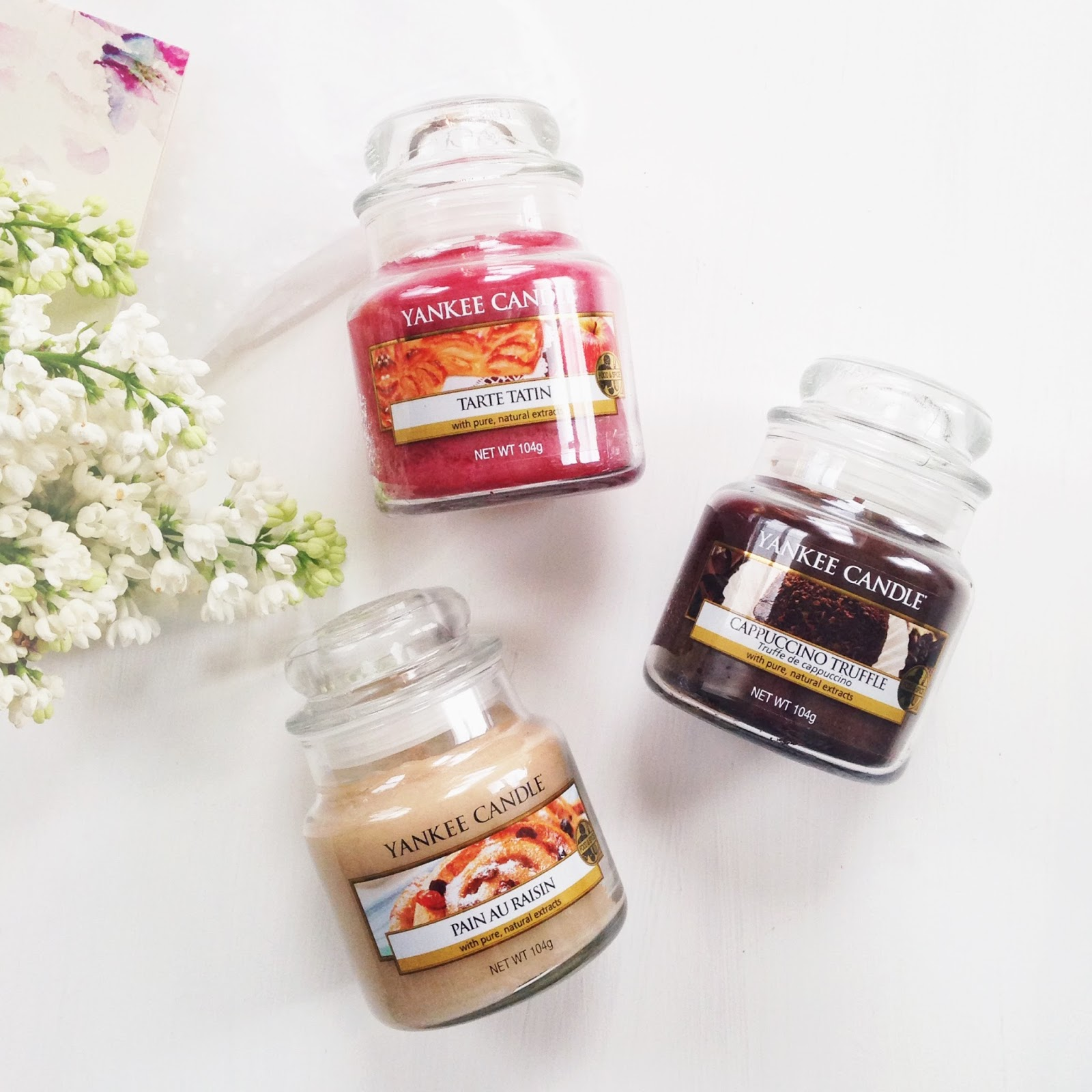 new cafe culture candles by yankee candle