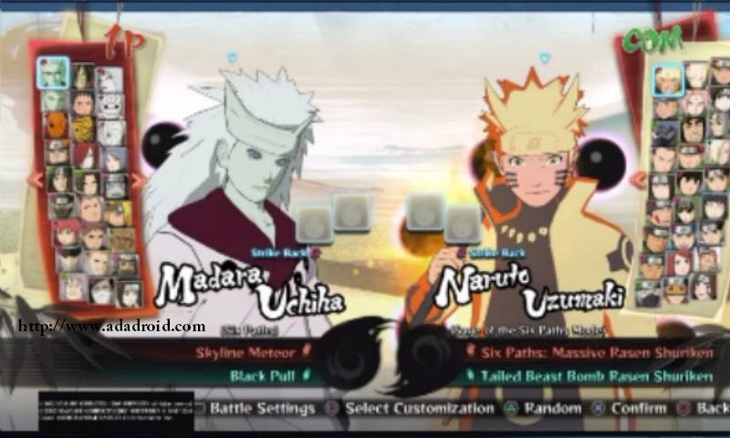 Naruto Senki Mod NSUNS4 v2 by Alwan Apk - Adadroid