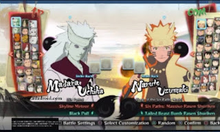 Download Naruto Senki Mod NSUNS4 v2 by Alwan Apk