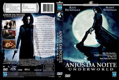Anjos da Noite DVD Capa