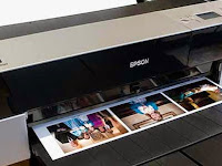 Print test results with Epson printer L1800
