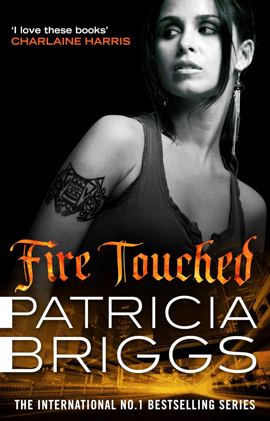 'fire Touched' Mercy Thompson #9 By Patricia Briggs