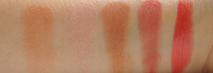 Swatches: Alcina Multi Benefit Powder & Pure Colour Pencil Melon