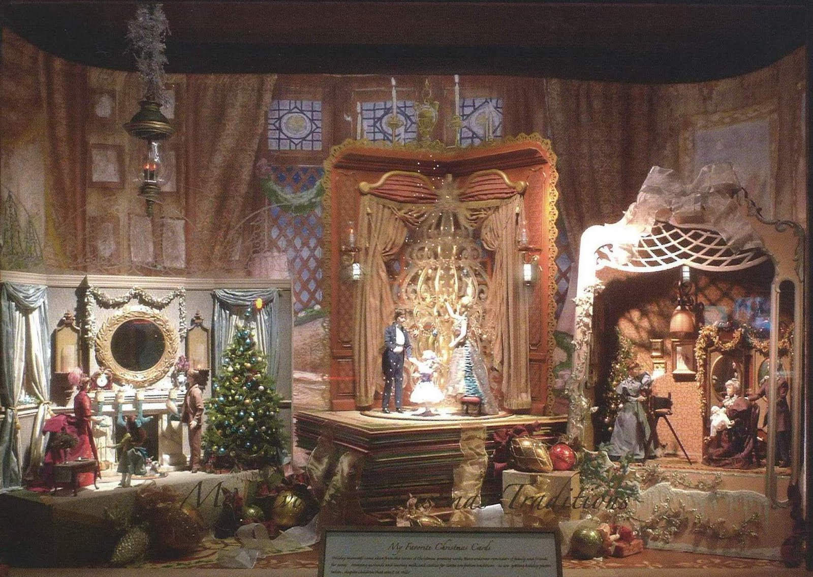 Mighty Lists: 15 amazing department store christmas window ...