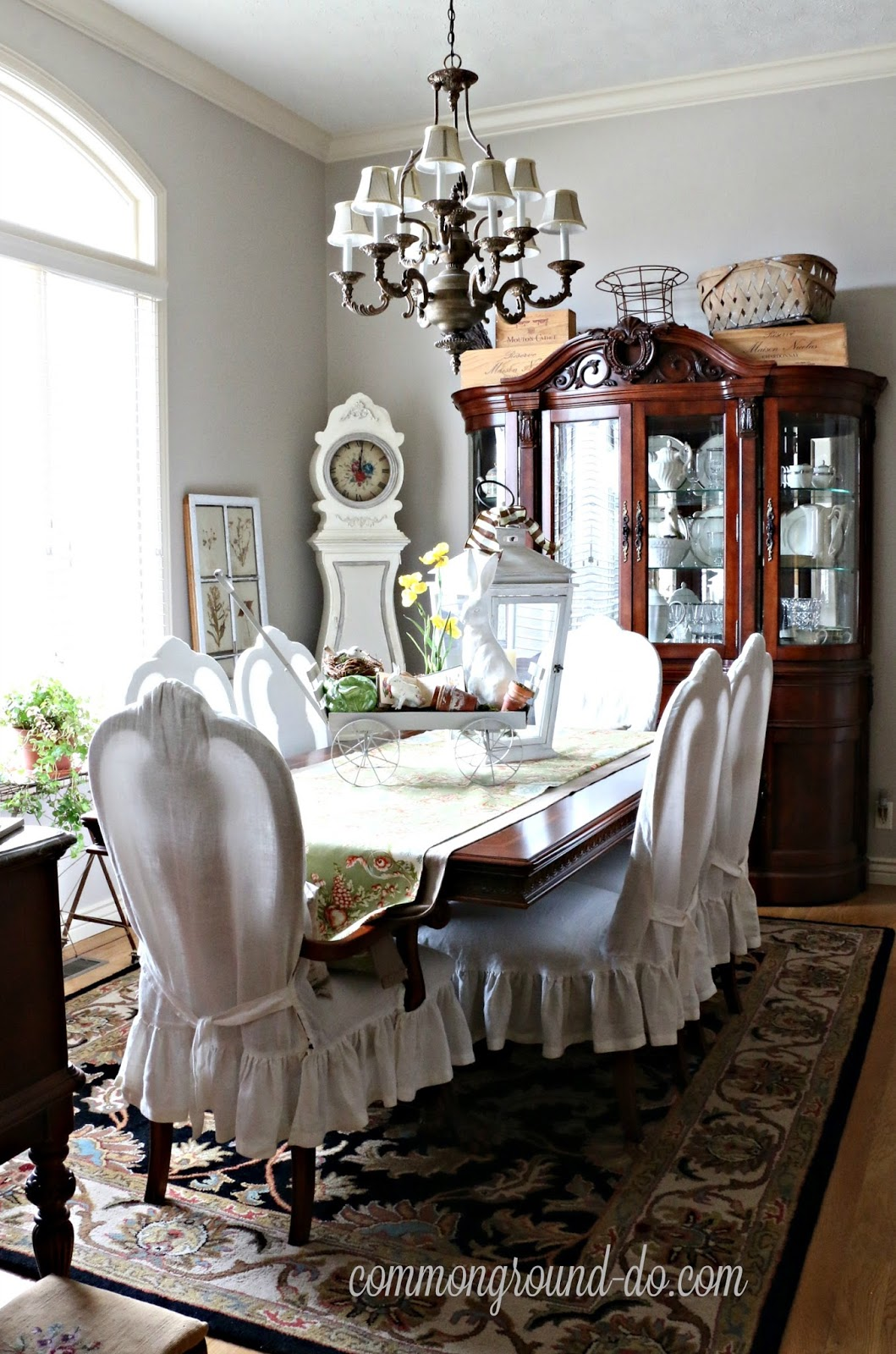 Our Spring Dining Room: Common Ground : Spring Dining Room With Hello, Spring Blog