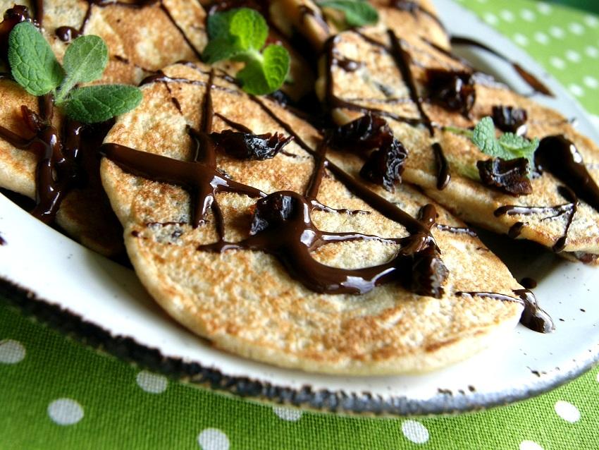 bezglutenowe pancake