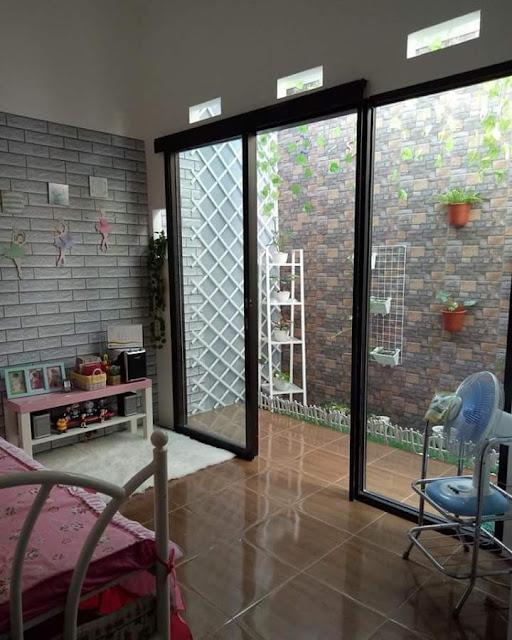 Inspirasi Rumah Minimalis Tipe 50 Kamar Tidur Berjendela Besar