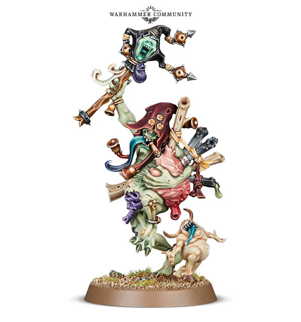 Sloppity Bilepiper herald of nurgle new model