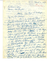 Page one of the letter reproduced in the post