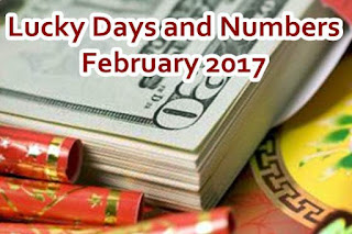 Lucky Days and Numbers for each sign for February 2017