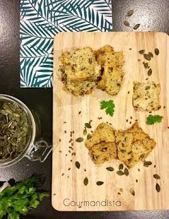 recette Crackers aux graines