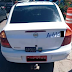 PM recupera táxi roubado por casal em Salvador