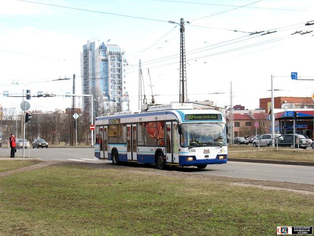 АКСМ-321 в Риге на маршруте №17