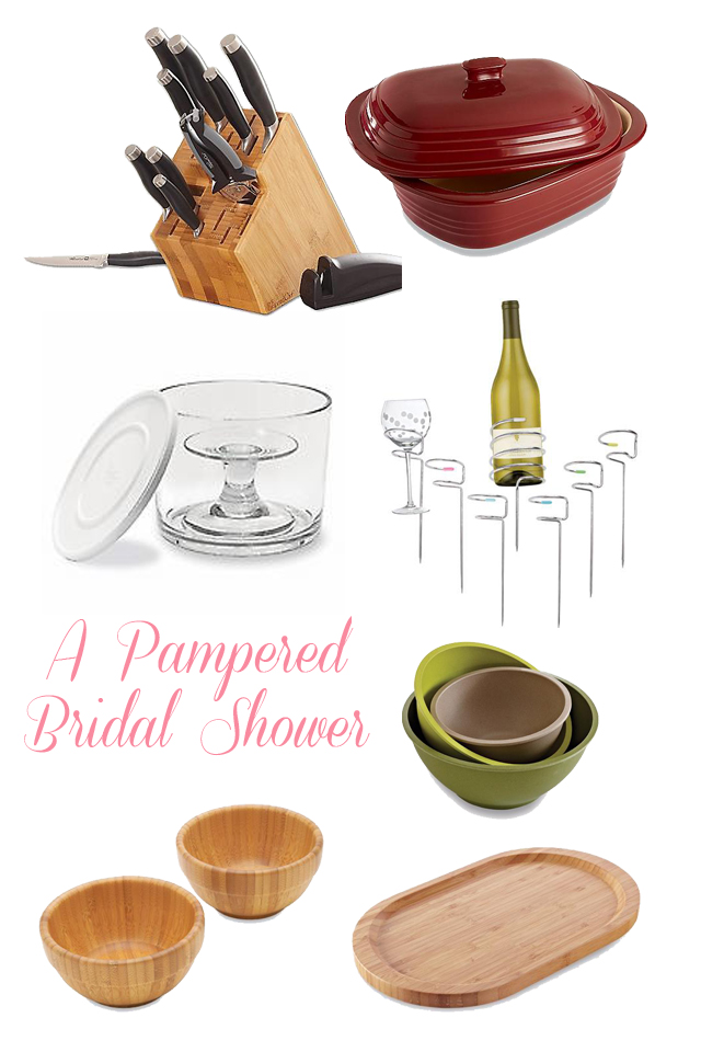 Chef Recipes Shower Pampered Bridal