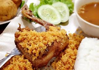 resep masakan ayam kremes