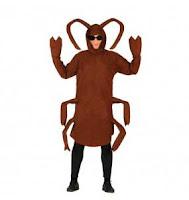 disfraz cucaracha Halloween