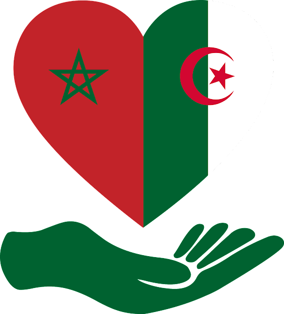 download flag love algeria morocco svg eps png psd ai vector color free  #algeria #logo #flag #svg #eps #psd #ai #vector #color #love #art #vectors #country #icon #logos #icons #flags #photoshop #illustrator #symbol #design #web #shapes #button #frames #buttons #apps #app #morocco #network