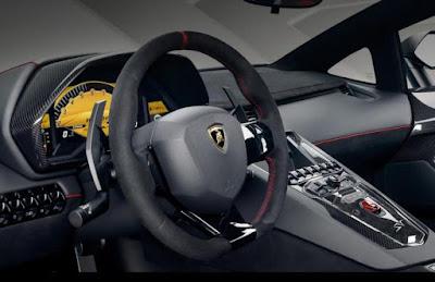 Lamborghini Aventador Features: Parking Sensors, Stop/Start Button, Brake Assist