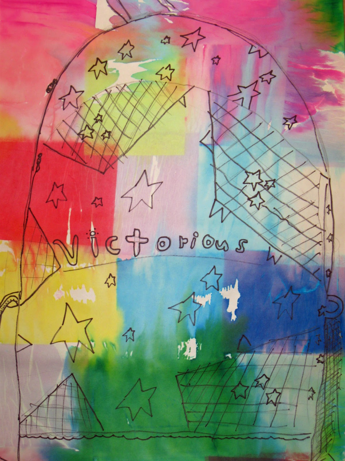 The Crayon Lab Contour Line Lesson